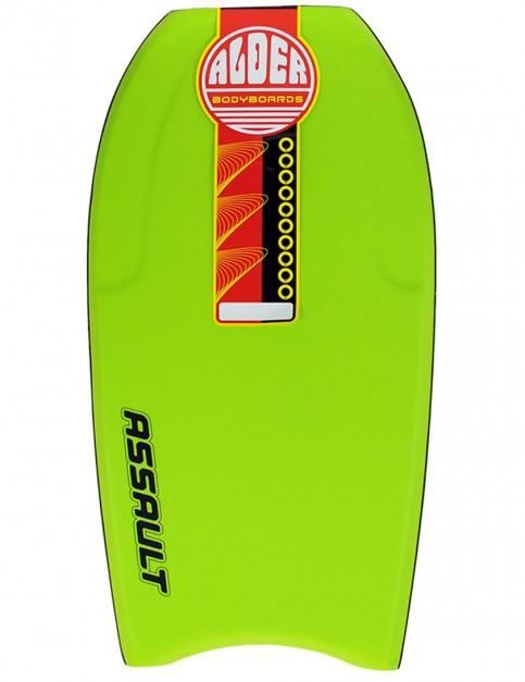 Alder Assault Bodyboard 42 inch - Lime Green