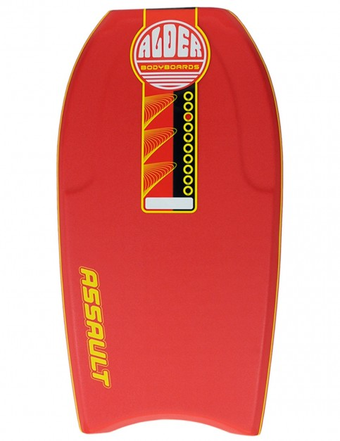 Alder Assault Bodyboard 44 inch - Red
