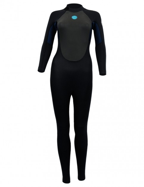 Alder Ladies Stealth Wetsuit 5/4/3mm 2018 - Black/Navy