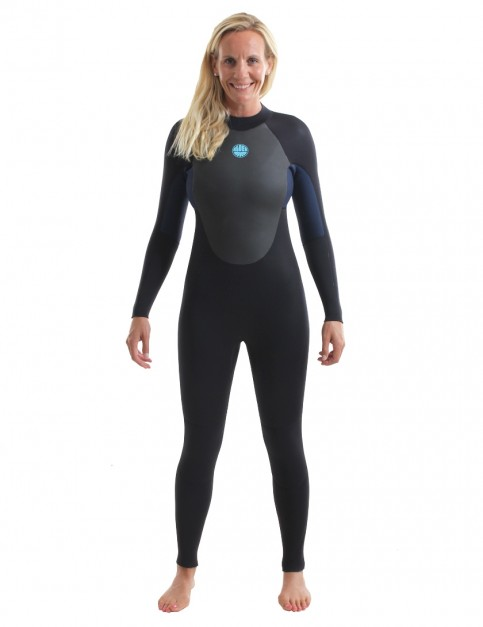 Alder Ladies Stealth Wetsuit 5/4/3mm 2018 - Black/Navy