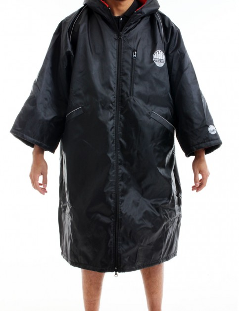 Alder Polar Coat Adult outdoor change robe - Black