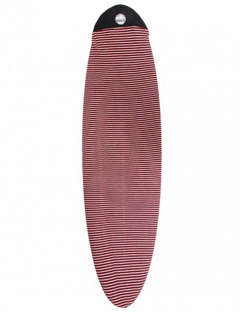 Alder Surfboard Stretch Cover Mal 7ft 0 - Red
