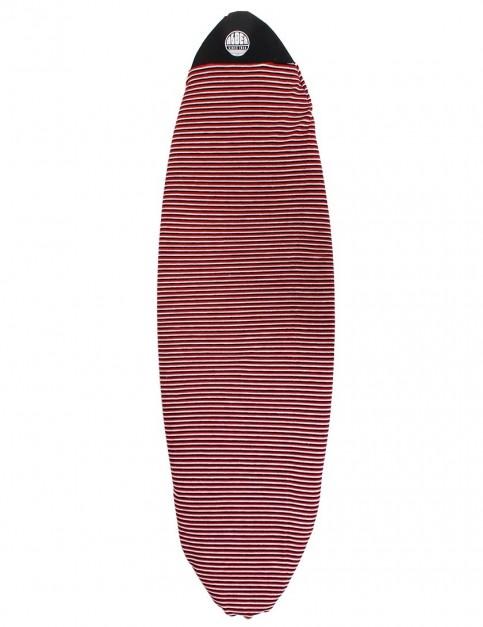 Alder Surfboard Stretch Cover Hybrid 6ft 0 - Red
