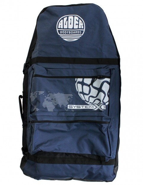 Alder System X3 44 inch Three Board Bodyboard bag - Navy/Grey