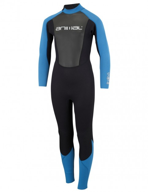 Animal Boys Nova 3/2mm wetsuit 2018 - Marina Blue