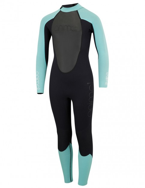 Animal Girls Nova 3/2mm wetsuit 2018 - Black