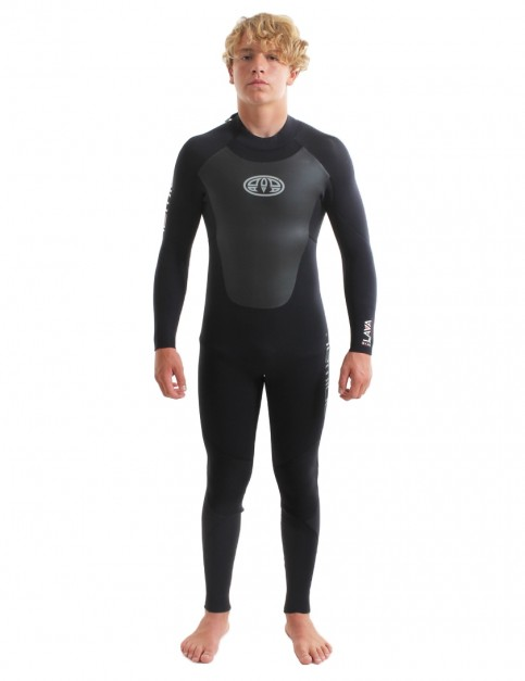 Animal Lava Back Zip 5/4/3mm Wetsuit 2018 - Black