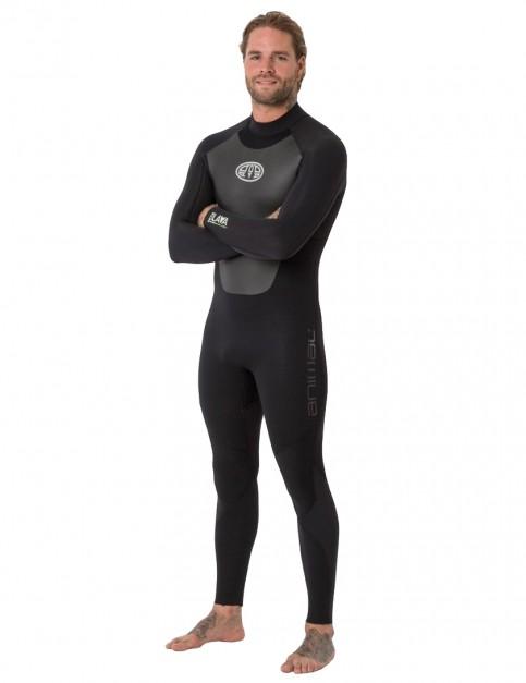 Animal Lava Back Zip 5/4/3mm wetsuit 2019 - Black