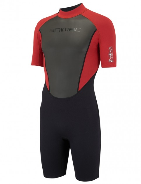 Animal Nova Shorty 3/2mm wetsuit 2018 - Rich Red