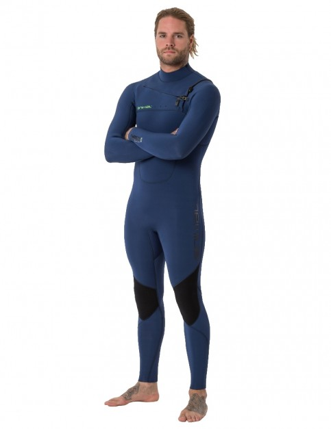 Animal Phoenix Chest Zip 5/4/3mm wetsuit 2019 - Dark Navy