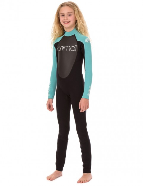 Animal Girls Nova 3/2mm wetsuit 2017 - Powder Blue