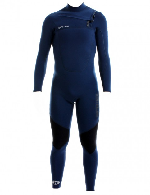 Animal Phoenix Chest Zip 5/4/3mm Wetsuit 2017 - Total Eclipse Navy