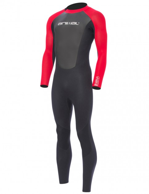 Animal Nova 3/2mm wetsuit 2017 - Bright Red