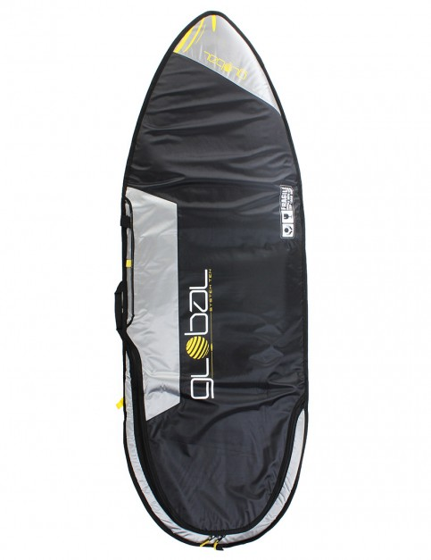 Global System 10 Hybrid surfboard travel bag 10mm 6ft 0 - Black