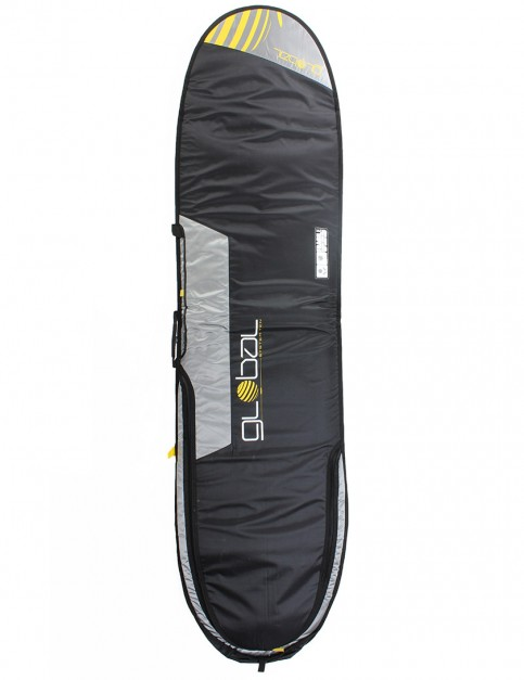 Global System 10 Mini Mal 10mm surfboard bag 8ft 0 - Black