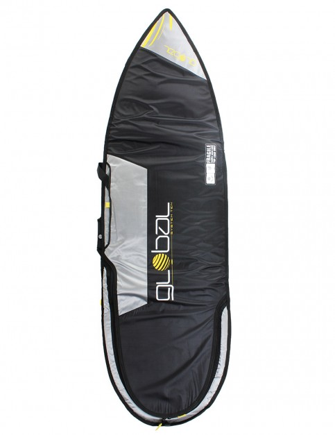 Global System 10 Shortboard 10mm surfboard bag 6ft 6 - Black