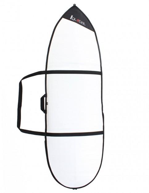 Global Day Hybrid 3mm surfboard bag 6ft 0 - White