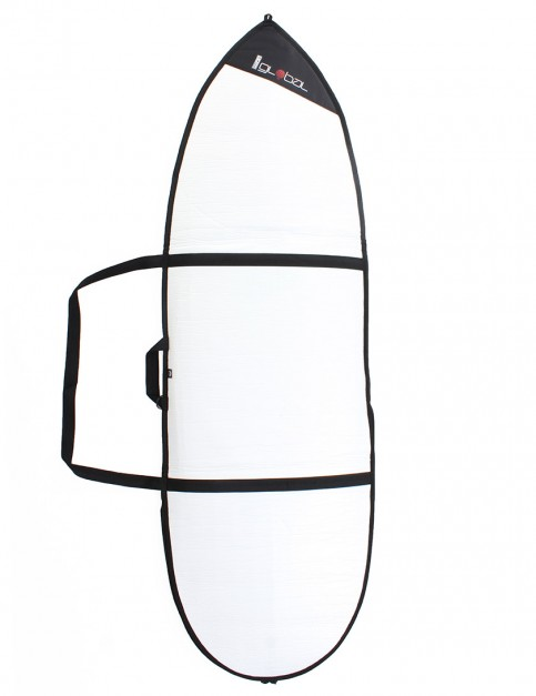 Global Day Hybrid 3mm surfboard bag 6ft 9 - White