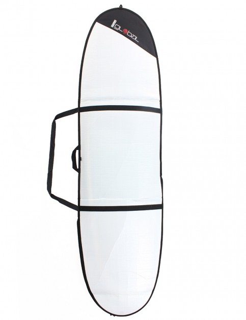 Global Day Mini Mal 3mm surfboard bag 8ft 0 - White