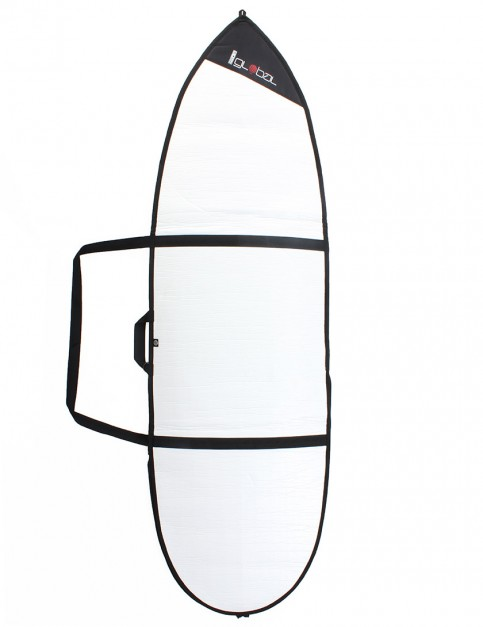 Global Day Shortboard 3mm surfboard bag 7ft 0 - White