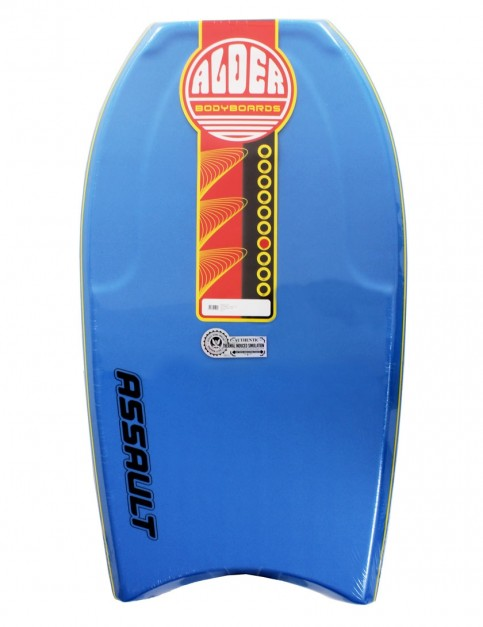 Alder Assault Bodyboard 40 inch - Mid Blue