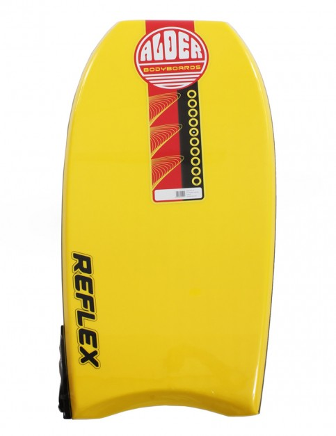 Alder Reflex Bodyboard 42 inch - Yellow
