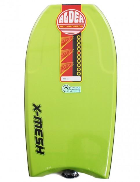 Alder X-Mesh Bodyboard 42 inch - Lime Green