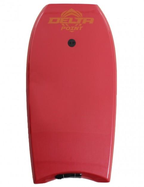 Alder Delta Point Bodyboard 40 inch - Red