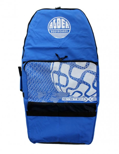 Alder System X2 44 inch Two Board Bodyboard bag - Blue/White