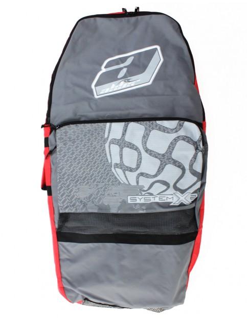 Alder System X2 44 inch Bodyboard Bag - Grey/Red