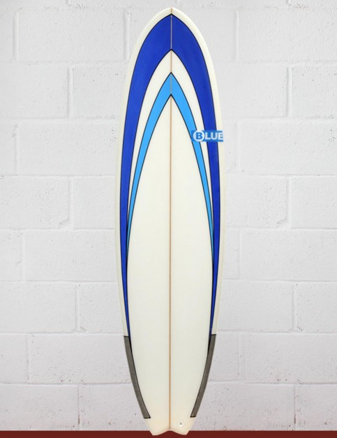 Blue Dot Fish Surfboard 6ft 3 - Blue Nose