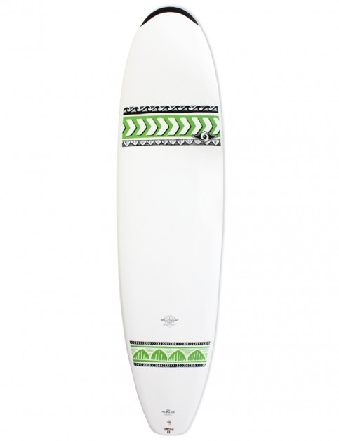 Bic DURA-TEC Mini Nose Rider surfboard 7ft 6 - Green