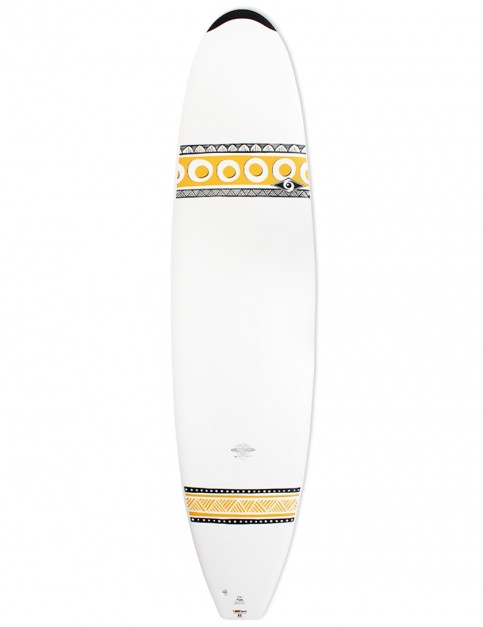 Bic DURA-TEC Mini Mal surfboard 7ft 9 - Tangerine