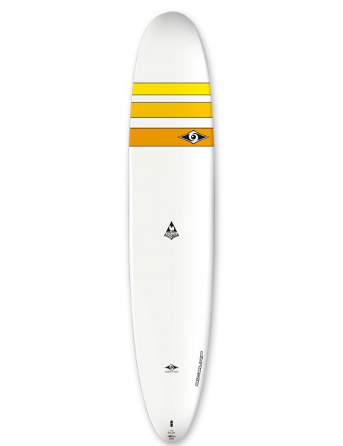 Bic Ace-Tec Noserider Longboard surfboard 9ft 4 - Yellow