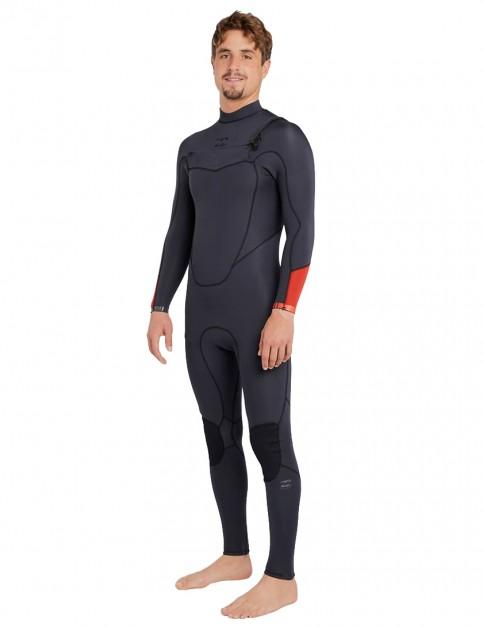 Billabong Absolute Comp Chest Zip 3/2mm Wetsuit 2018 - Asphalt