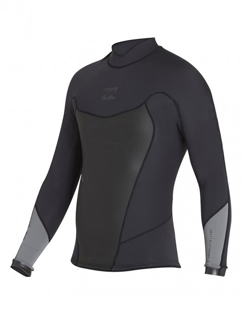 Billabong Absolute Comp 2mm wetsuit jacket 2018 - Black Sands