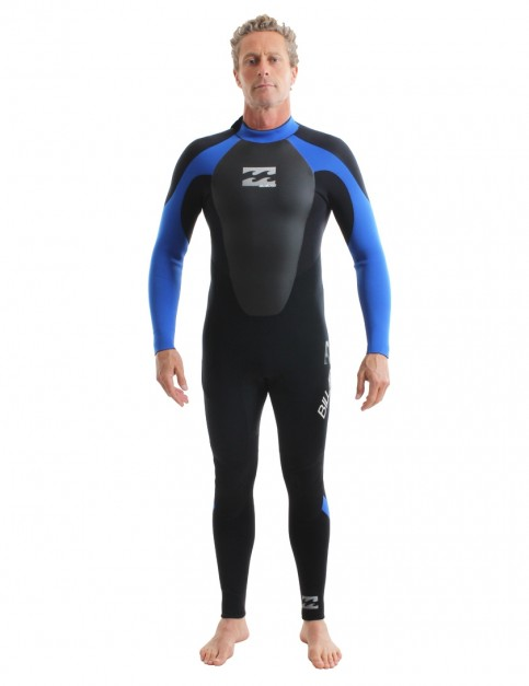 Billabong Intruder 5/4mm Wetsuit 2018 - Blue