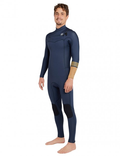 Billabong Revolution Tri Bong Chest Zip 3/2mm Wetsuit 2018 - Slate