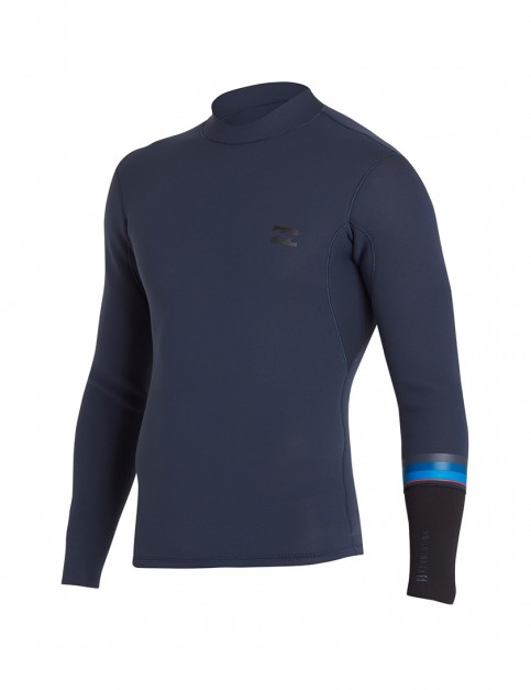 Billabong Revolution Dbah Reversible 2mm wetsuit jacket - Slate