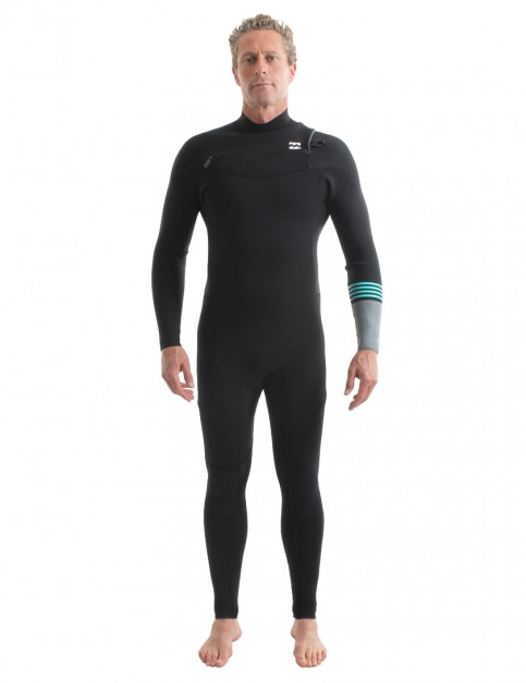 Billabong Revolution Tri Bong Chest Zip 5/4mm Wetsuit 2018 - Black 2