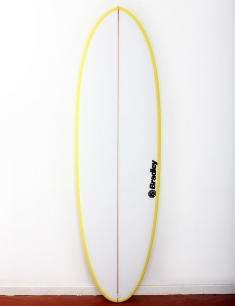Bradley Mr Bean surfboard 6ft 4 FCS II - Yellow