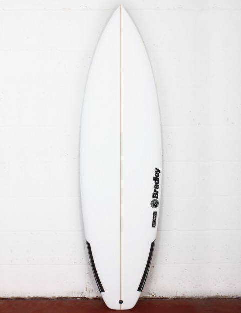 Bradley Solution surfboard 5ft 11 FCS II - White