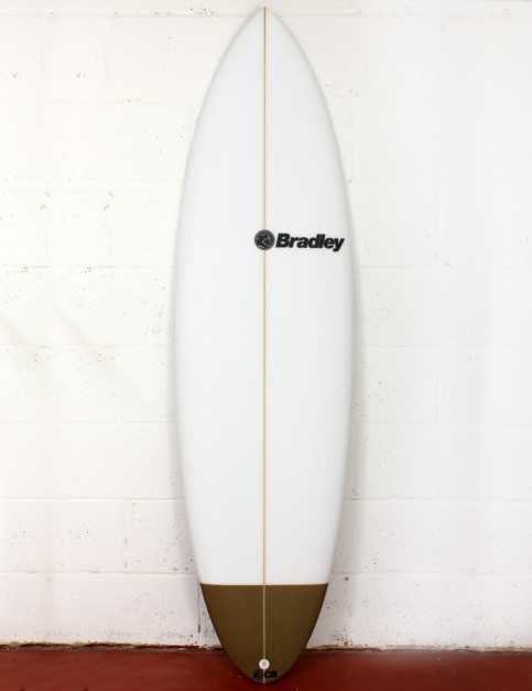 Bradley Chocolatine surfboard 6ft 1 FCS II - White