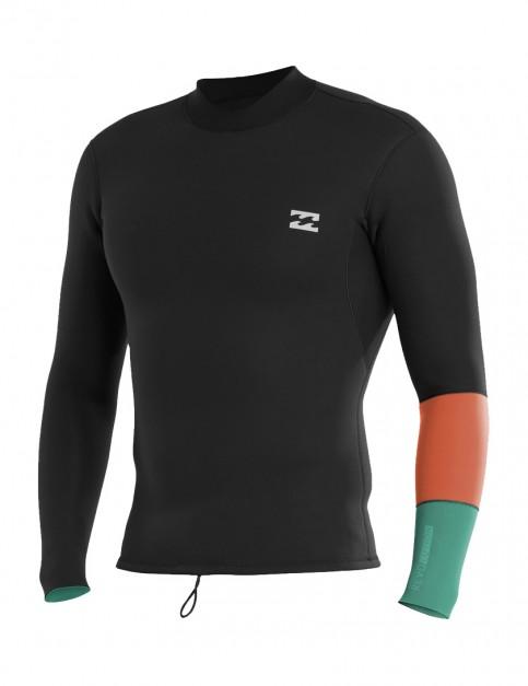 Billabong Revolution Tri Bong 2mm wetsuit jacket 2017 - Off Black