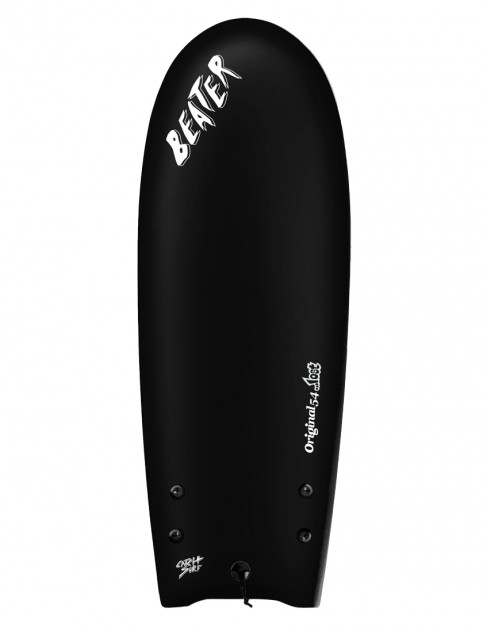 Catch Surf X Lost Beater Original Twin Fin soft surfboard 5ft 4 - Black