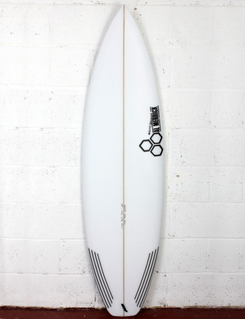 Channel Islands Black and White Surfboard 6ft 0 Futures - White