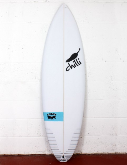 Chilli Rarebird surfboard 6ft 0 FCS II - Blue