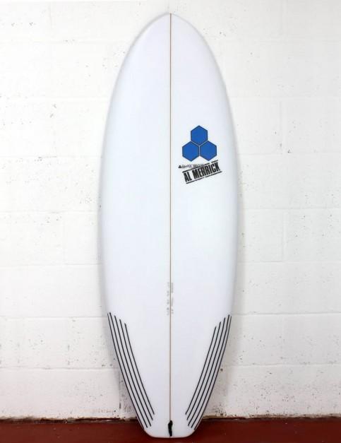 Channel Islands Average Joe Surfboard 6ft 1 FCS II - White