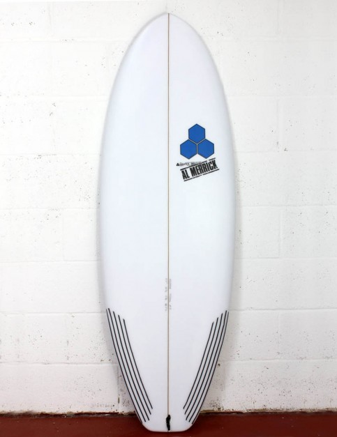 Channel Islands Average Joe Surfboard 5ft 3 FCS II - White