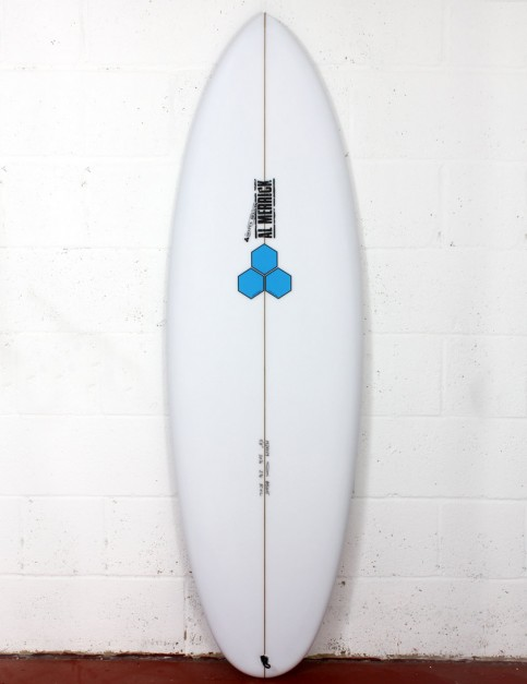 Channel Islands Biscuit Surfboard 5ft 10 FCS II - White